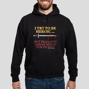 Heroic Hoodie (dark)