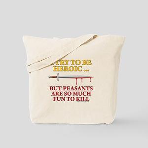 Heroic Tote Bag