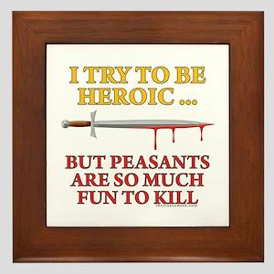 Heroic Framed Tile