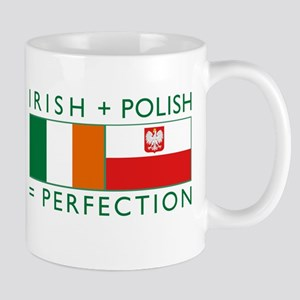 Irish Polish flags Mug