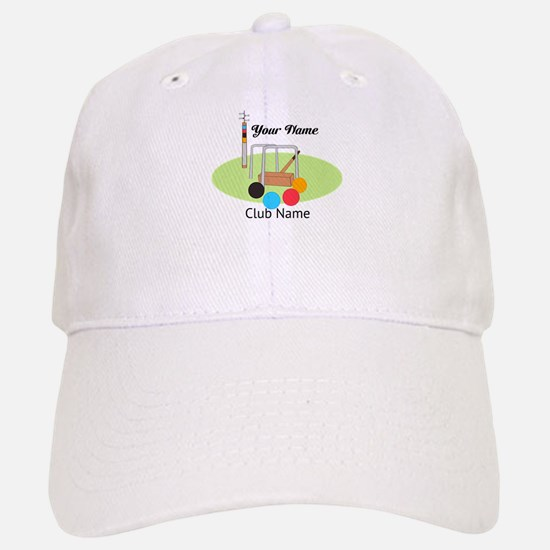 Croquet Club Player Team Baseball Baseball Baseball Cap
