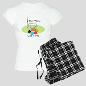 Croquet Club Player Team Pajamas