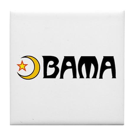 OBAMA ISLAMA Tile Coaster