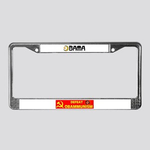 OBAMA ISLAMA License Plate Frame