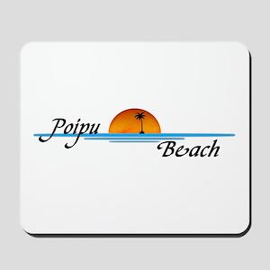 Poipu Beach Mousepad