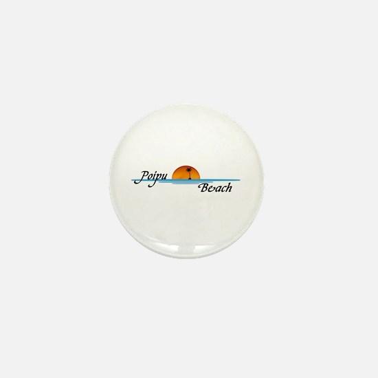 Poipu Beach Mini Button