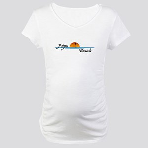 Poipu Beach Maternity T-Shirt