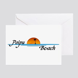 Poipu Beach Greeting Card