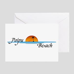 Poipu Beach Greeting Card