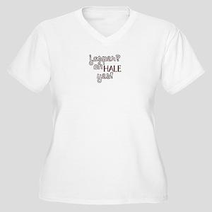 Jasper? Oh Hale yes! Women's Plus Size V-Neck T-Sh