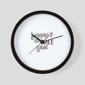 Jasper? Oh Hale yes! Wall Clock