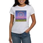 370.heart fire mandala Women's T-Shirt