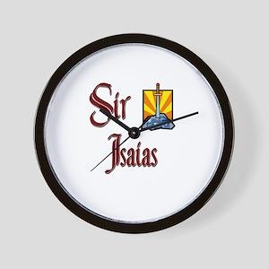 Sir Isaias Wall Clock