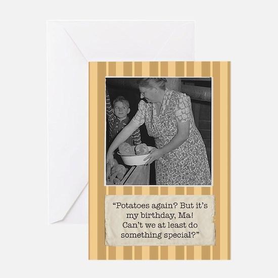 Great Depression Birthday Card