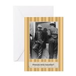 Friends with Benefits Birthday Card