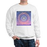 370a.heart fire mandala Sweatshirt