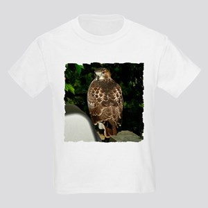 Red-tailed Hawk Kids Light T-Shirt