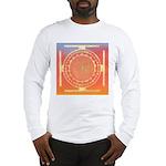 374.rainbow mandala Long Sleeve T-Shirt