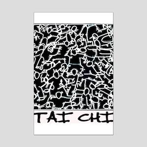 Tai Chi Mini Poster Print