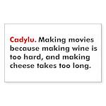 Cadylu Smartmouth Sticker