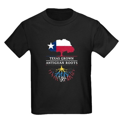 Texan Grown with Antiguan Roots T-Shirt