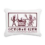 October 12th 2 Rectangular Canvas Pillow