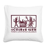 October 12th 2 Square Canvas Pillow
