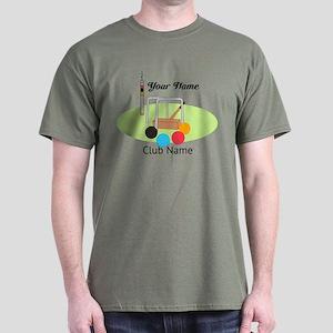 Croquet Club Player Team T-Shirt