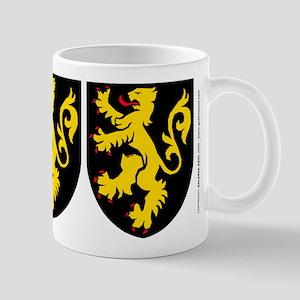 Belgium: Heraldic Mug, design 2