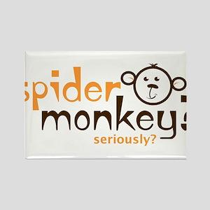 Spider Monkey? Rectangle Magnet
