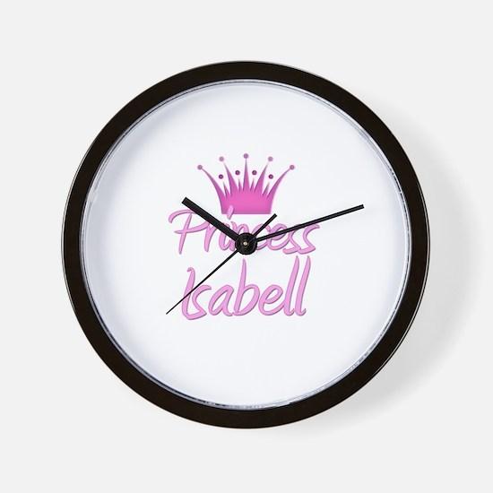 Princess Isabell Wall Clock