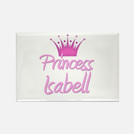 Princess Isabell Rectangle Magnet