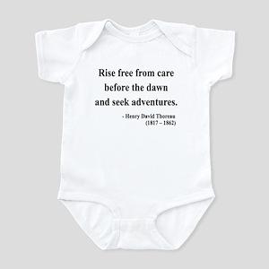 Henry David Thoreau 33 Infant Bodysuit