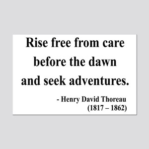 Henry David Thoreau 33 Mini Poster Print