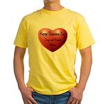 Whiners Valentine Yellow T-Shirt
