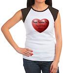 Whiners Valentine Women's Cap Sleeve T-Shirt