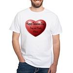 Whiners Valentine White T-Shirt