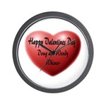 Whiners Valentine Wall Clock