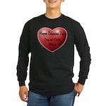 Whiners Valentine Long Sleeve Dark T-Shirt