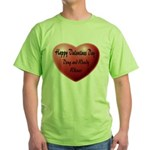Whiners Valentine Green T-Shirt