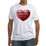 Whiners Valentine Fitted T-Shirt