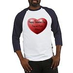 Whiners Valentine Baseball Jersey