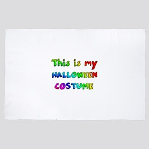 This is my Halloween Costume 4' x 6' Rug