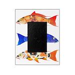 Orange Koi 5 Picture Frame