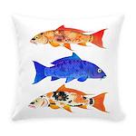 Orange Koi 5 Everyday Pillow