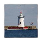 Harbor Beach Lighthouse Queen Duvet