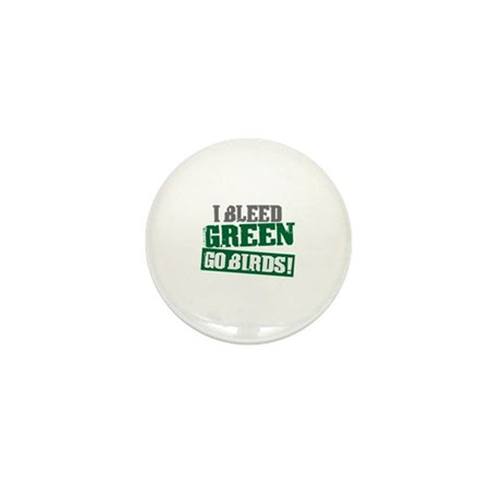 I Bleed Green (Philly) Mini Button (10 pack)