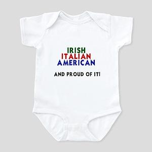 Irish-Italian-American...and Infant Creeper