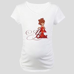 Afro Glam Maternity T-Shirt