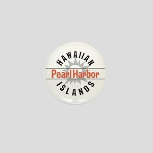 Pearl Harbor Hawaii Mini Button